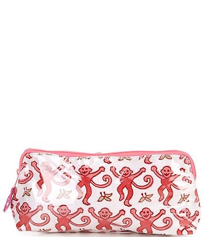 Roller Rabbit Monkey Small Makeup Bag