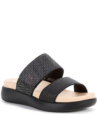 Romika Borneo 01 Banded Slide Leather Sandals