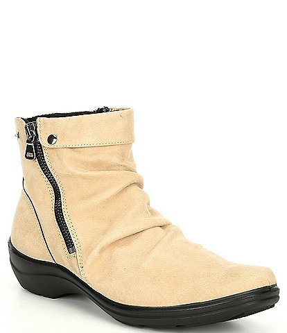 Romika Dora 07 Suede Waterproof Side Zip Booties