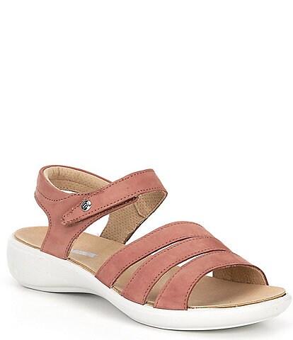 Romika Ibiza 111 Leather Wedge Sandals