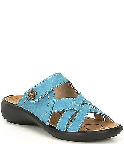Romika Ibiza 99 Leather Slip On Sandals