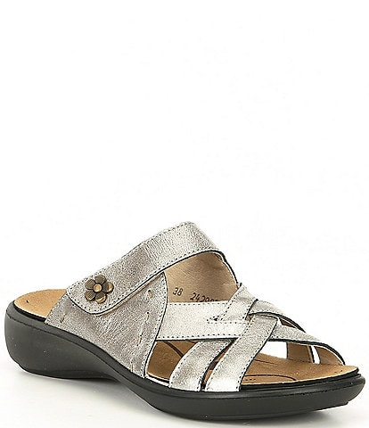 Romika Ibiza 99 Leather Slip On Sandals
