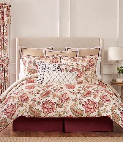 Rose Tree Emory Jacobean Floral Comforter Set
