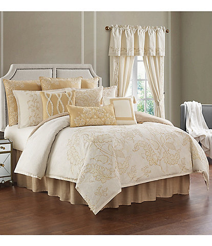Rose Tree Farrah Linen & Cotton Floral Comforter Set