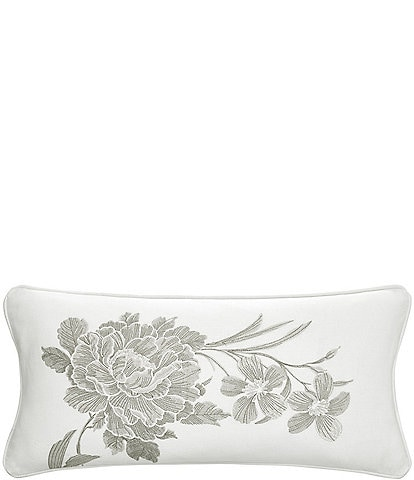 Rose Tree Julianne Embroidered Floral Breakfast Pillow