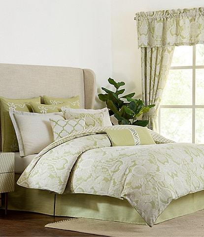 Rose Tree Wexford Green Reversible Comforter Set