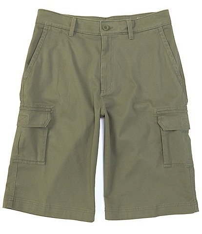 Roundtree & Yorke 13#double; Inseam Washed Cargo Shorts