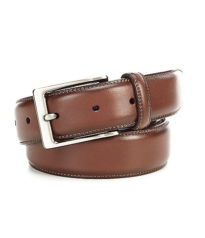 Roundtree & Yorke Amigo Dress Leather Belt