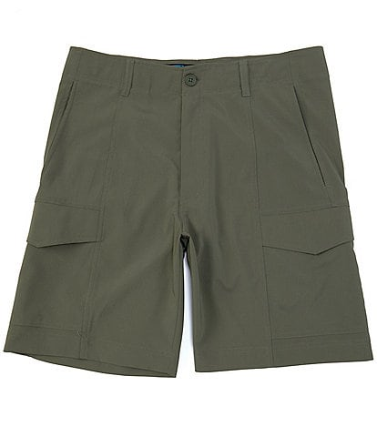 Roundtree & Yorke Big & Tall 9#double; and 11#double; Inseams Performance Tech Cargo Shorts