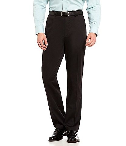 Roundtree & Yorke Big & Tall TotalFLEX Classic Fit Flat Front CoreComfort Waistband Easy Care Pants