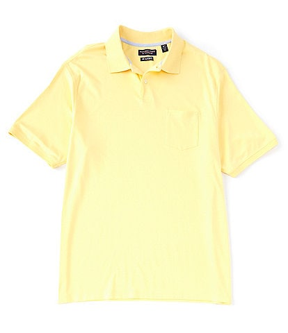 Roundtree & Yorke Big & Tall Short-Sleeve Supima Solid Polo