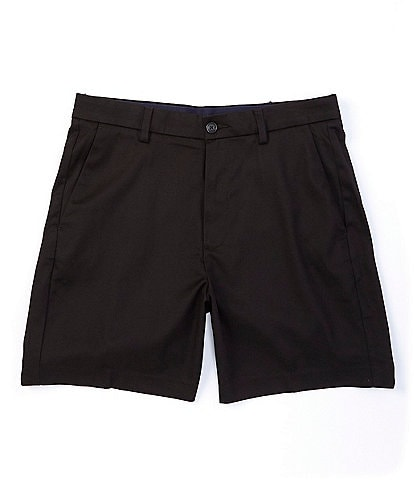 Roundtree & Yorke Big & Tall TotalFLEX 7#double; and 9#double; Inseams Flat Front Shorts