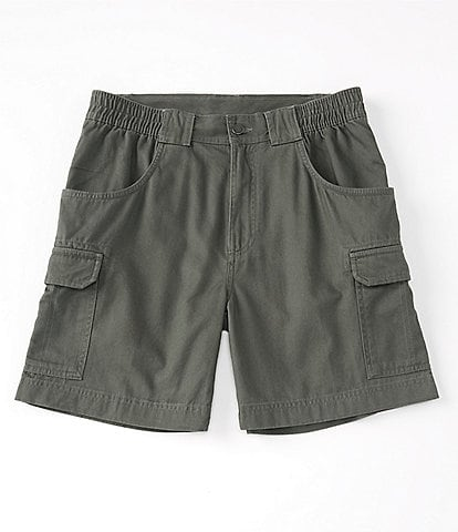 Roundtree & Yorke Big and Tall 7#double; and 9#double; Inseam Hiker Cargo Shorts