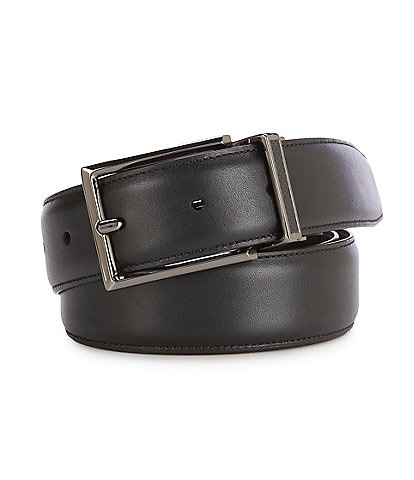 Roundtree & Yorke Carbon Fiber Keeper Reversible Belt