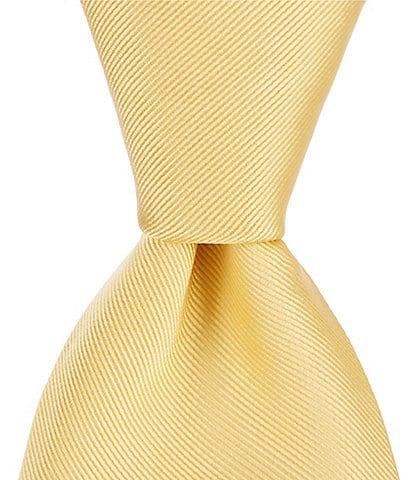 Roundtree & Yorke Cardinal Solid 3 1/8#double; Silk Tie