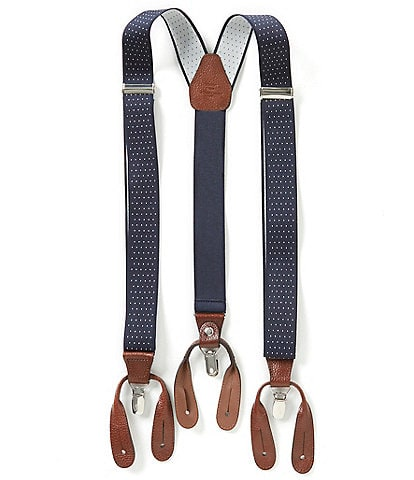 Roundtree & Yorke Dotted Suspenders