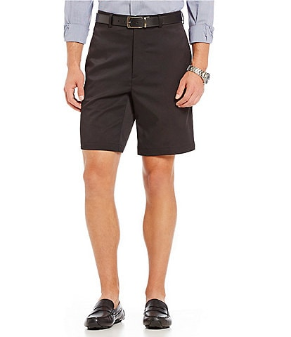 Roundtree & Yorke TravelSmart Flat-Front 9#double; Inseam Easy Care Ultimate Comfort Shorts