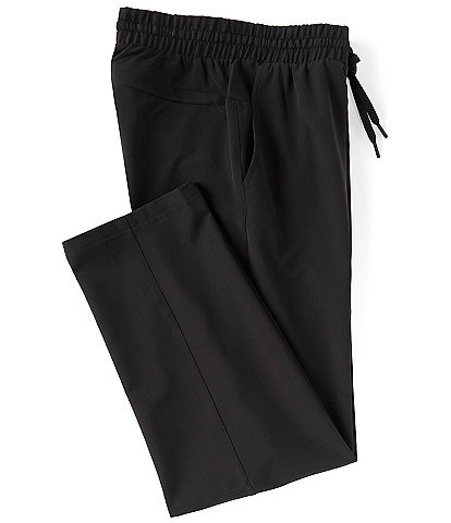 Roundtree & Yorke Flat-Front Performance Pull-On Pants