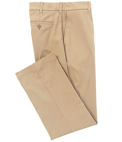 Roundtree & Yorke TruTemp365™ Flat Front Performance REPREVE® Recycled Materials Chino Pants