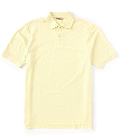 Roundtree & Yorke Gold Label Perfect Performance Short-Sleeve Solid Non-Iron Polo