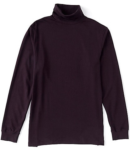 Roundtree & Yorke Long-Sleeve Solid Seamless Turtle Neck