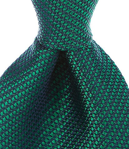 Roundtree & Yorke Martin Solid Traditional 3 3/8#double; Silk Tie