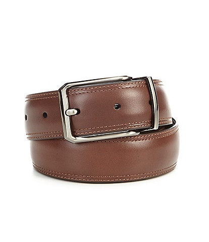 Roundtree & Yorke Moris Reversible Leather Belt