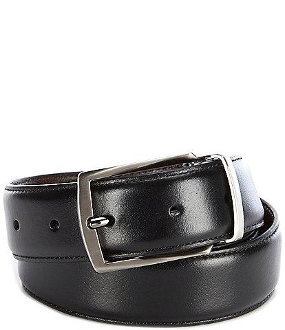 Roundtree & Yorke Park Slope Reversible Leather Belt