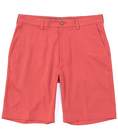 Roundtree & Yorke Performance Big & Tall 9#double; and 11#double; Inseams Flat Front CoreComfort Shorts
