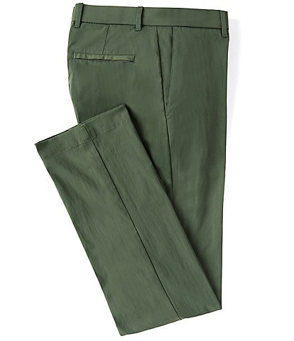 Roundtree & Yorke Performance Flat Front Pants