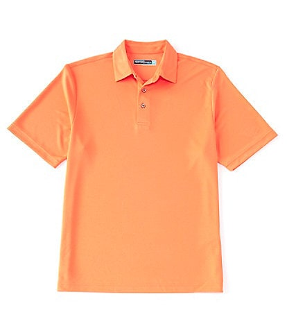 Roundtree & Yorke Performance Short-Sleeve Solid Polo