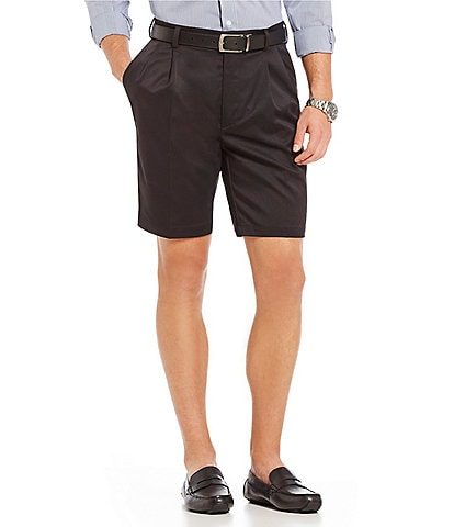 Roundtree & Yorke TravelSmart 9#double; Inseam Pleated Easy Care Ultimate Comfort Shorts