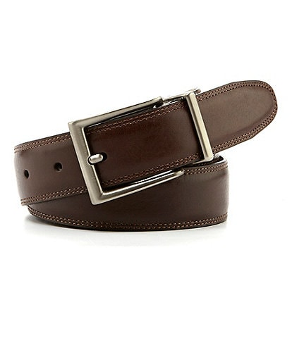 Roundtree & Yorke Reversible Resa Leather Belt