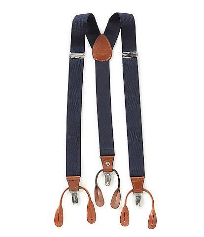 Roundtree & Yorke Solid Suspenders