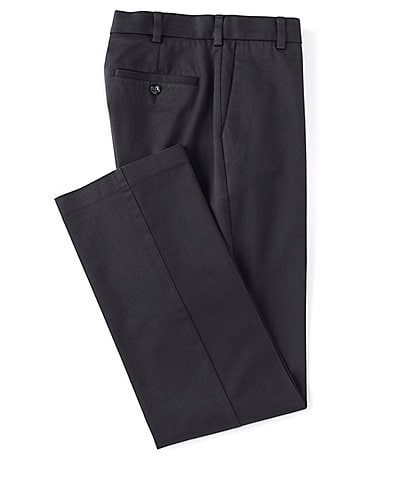 Roundtree & Yorke TravelSmart CoreComfort Big & Tall Non-Iron Flat-Front Classic Relaxed Fit Chino Pants