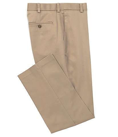 Roundtree & Yorke TravelSmart CoreComfort Big & Tall Flat-Front Classic Relaxed Fit Chino Pants