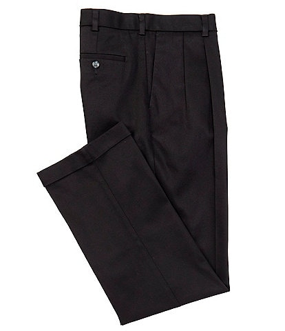Roundtree & Yorke TravelSmart CoreComfort Big & Tall Pleated Classic Relaxed Fit Chino Pants