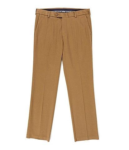 Roundtree & Yorke TravelSmart CoreComfort Straight Flat-Front Straight Fit Chino Pant