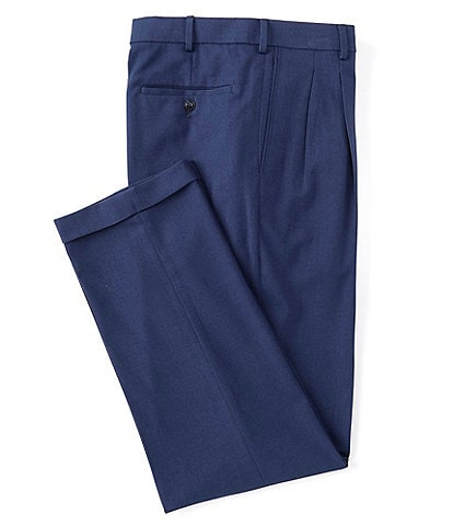 Roundtree & Yorke TravelSmart Ultimate Comfort Easy Care Pleated Dress Pants