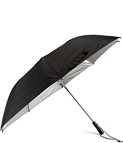 Roundtree & Yorke 58#double; Vented Jumbo Canopy Umbrella with Sun Protection