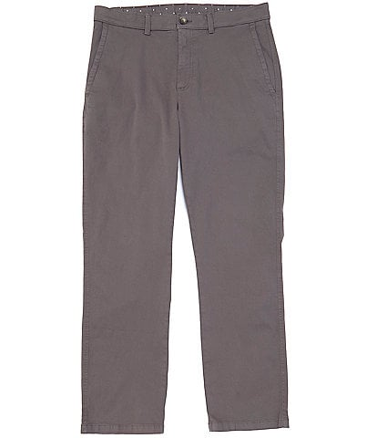 Rowm Straight Fit Garment-Dyed Chino Pants