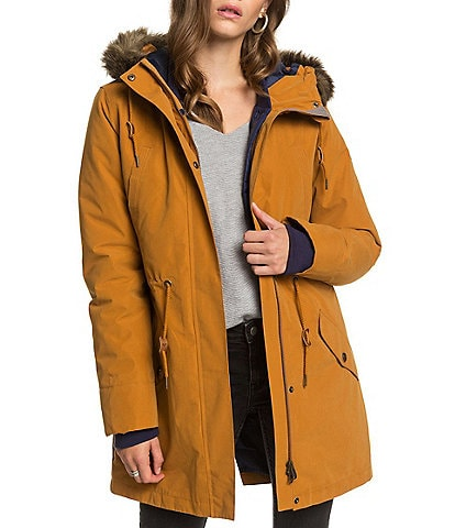 Roxy Amy Three-In-One Longline Snow Ski Jacket