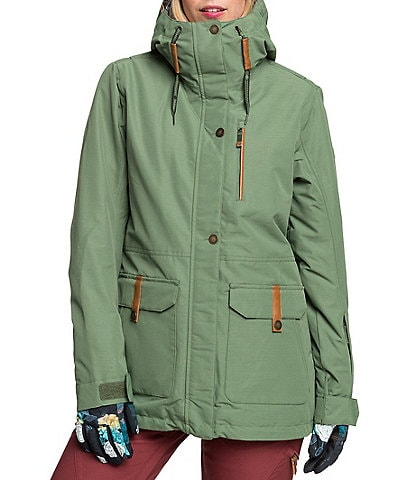 Roxy Andie Solid Snow Parka Ski Jacket
