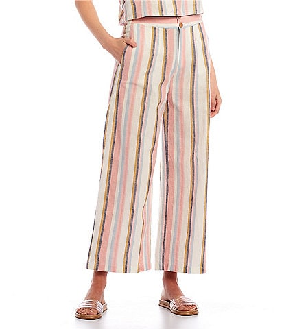 Roxy Coordinating Sailing Trip Striped Pants
