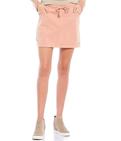 Roxy Coordinating Tie-Waist In A Dream Fleece Skirt