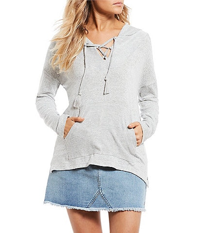 Roxy Cozy Lace Up Hoodie