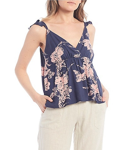 Roxy Floating By Printed Tank Top