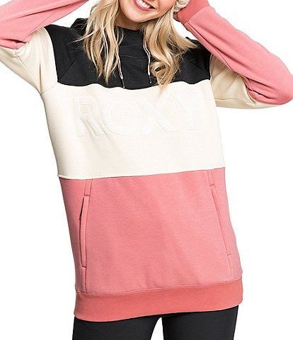 Roxy Liberty Angora Color Block Snow Hoodie