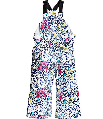 Roxy Little Girls 2T-7 Lola Sleeveless Printed Snow Overall