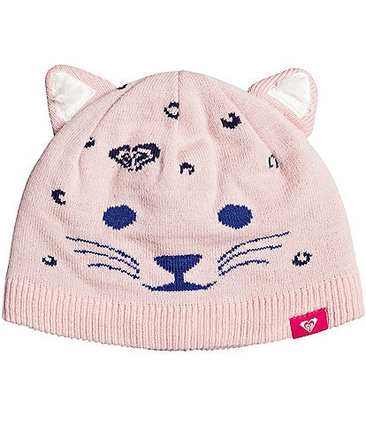 Roxy Little Girls Leo Girl Acrylic Snow Beanie